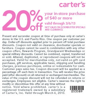 graphic about Maurices Coupon Printable titled Carters discount coupons printable june 2018 - 6 02 coupon codes