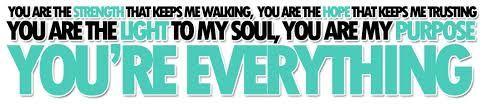 """Everything"" - Lifehouse. :)"
