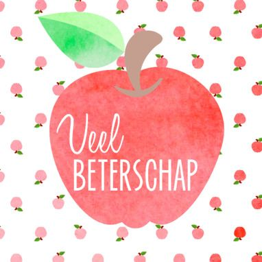 Beterschapskaart appel- Greetz