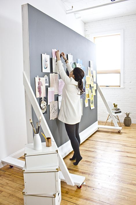 MaeMae Paperie's mobile inspiration board. LOVE IT (for the new studio space maybe?)