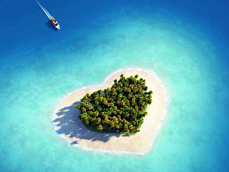 paisajes de amor eterno imagenes hermosas fotos enamorados fondos wallpaper isla mar playa