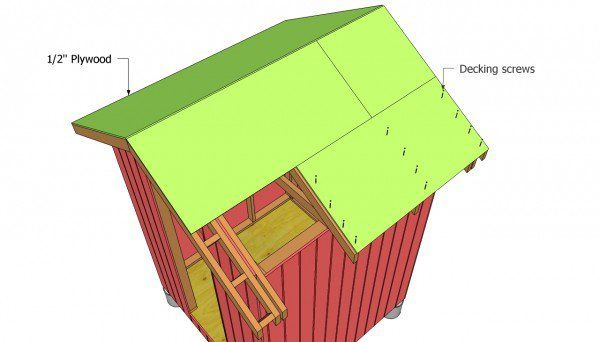 Gable Shed Roof Plans | MyOutdoorPlans | Free Woodworking Plans and Projects, DIY Shed, Wooden Playhouse, Pergola, Bbq