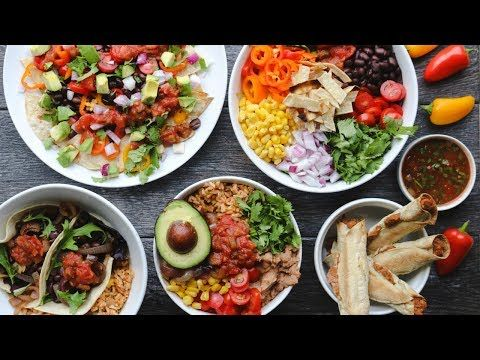 5 Mexican-Inspired Vegan Meals for Under $5 (Budget-Friendly) - YouTube