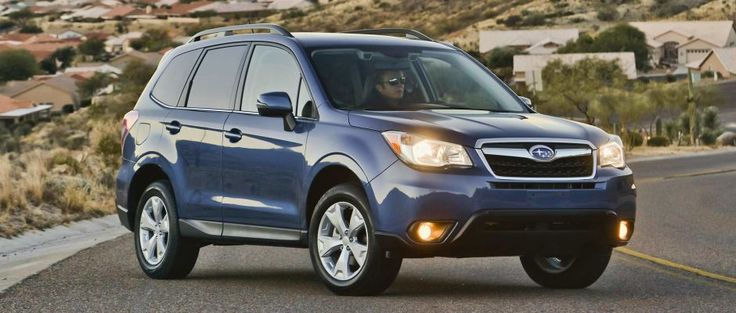 Best rental cars for a happy vacation subaru forester