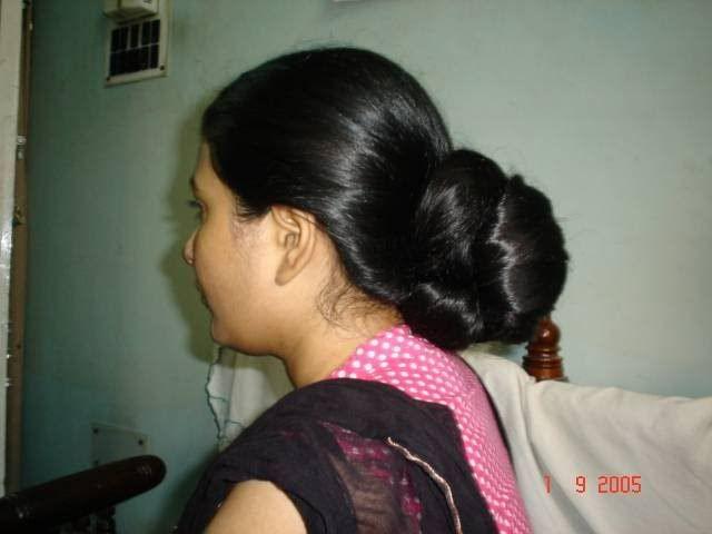 47 Best Images About Indian Long Hair Bun On Pinterest