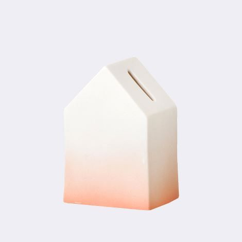 Save money for your next romantic trip in this House of Money from Ferm Living.