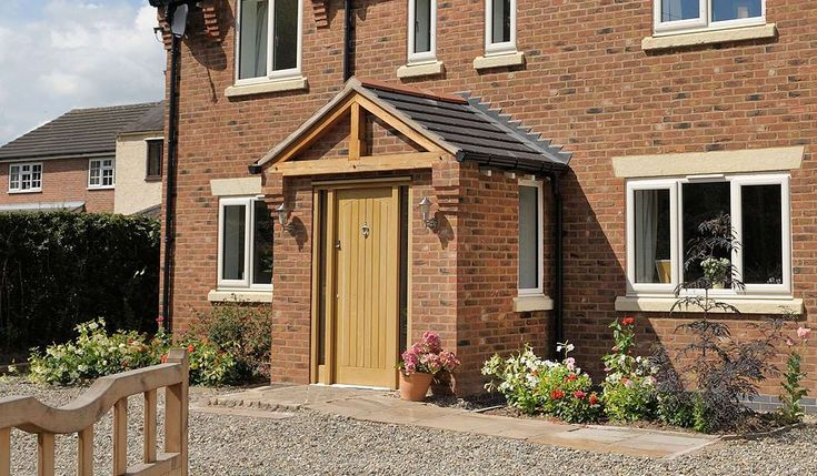 Porches | UPVC & Brick Entrance Porch from Conservatory Outlet