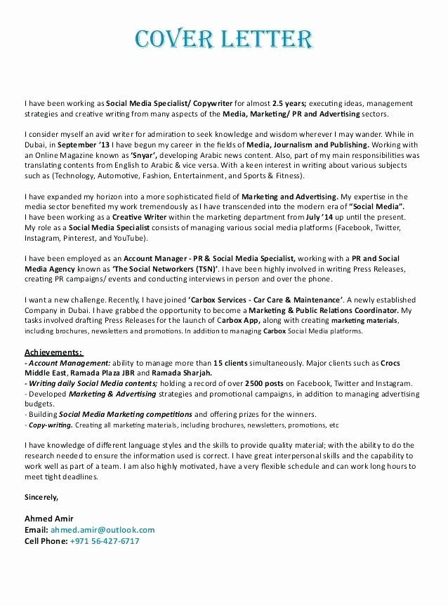√ 20 Draft Cover Letter Template | Cover Letter Templates ...