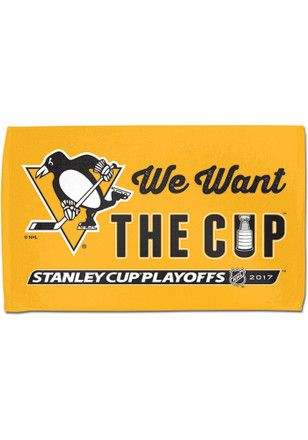 Pittsburgh Penguins 2017 Playoffs Rally Towel