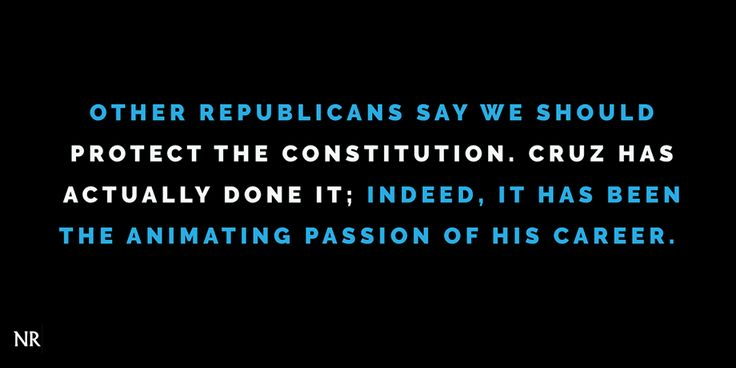 National Review endorses Ted Cruz for President.