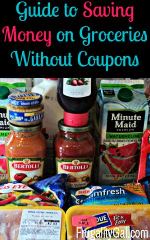 Frugal Living : How to Save Money on Groceries without Coupons
