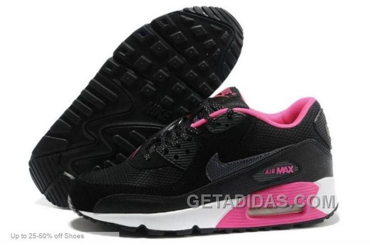 http://www.getadidas.com/nike-women-air-max-90-black-dark-grey-pink-foil-running-shoes-discount.html NIKE WOMEN AIR MAX 90 BLACK DARK GREY PINK FOIL RUNNING SHOES DISCOUNT Only $71.00 , Free Shipping!