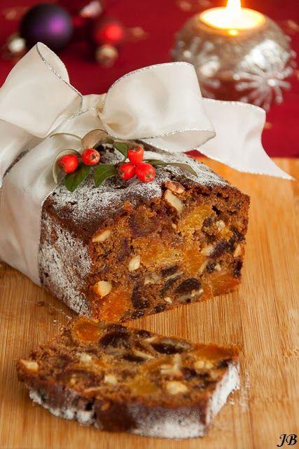 Carolines blog: Engelse kerstcake