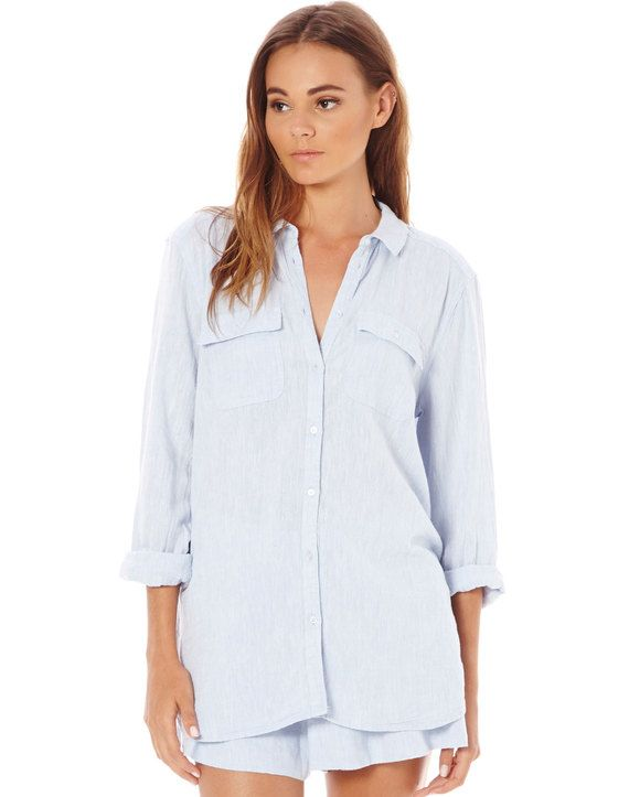 Linen Blend Shirt, New Year Savings Free Shipping with Glassons Coupon codes and Glassons Promo Codes.
