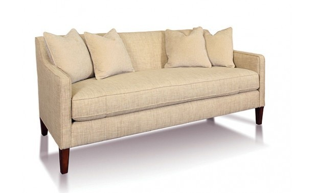 Ralph Lauren's Milton sofa no longer available in stores, but I saw one on Craig's List for $650.