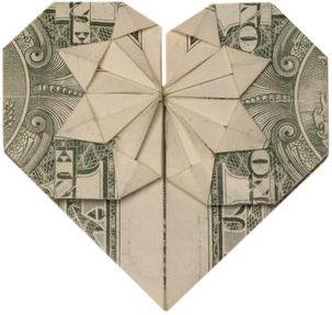 Image result for Dollarbillheart