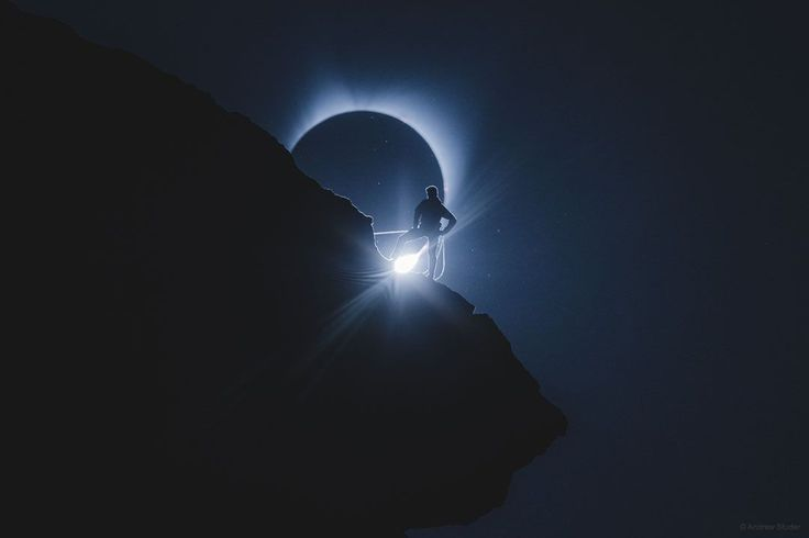 The Climber and the Eclipse