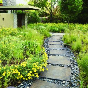 Landscaping ideas with stone: Creating textures - 50+ Landscaping Ideas with Stone - Sunset Mobile