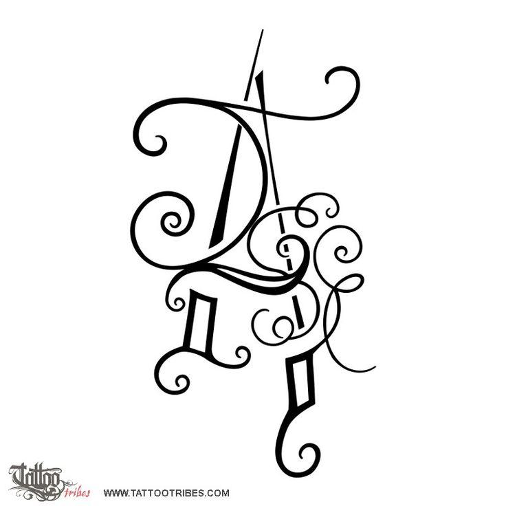 Tatuaggio di Lettera A, Alfabeto tatto