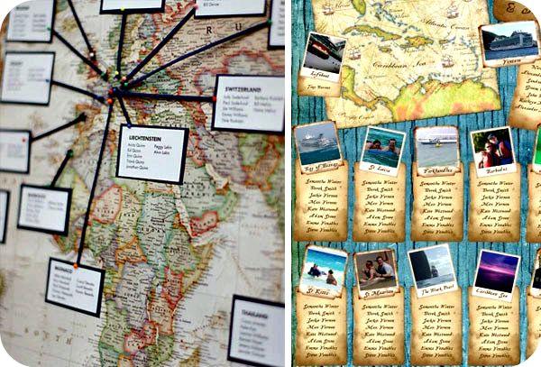 tableau marriage | carta geografica
