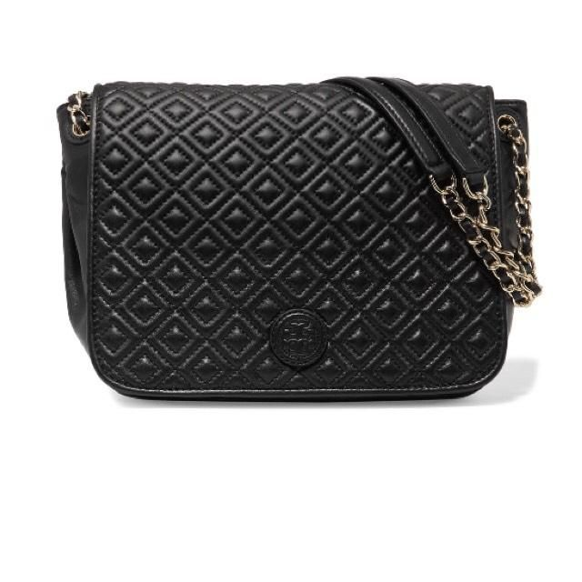 Tory Burch Marion Quilted Shoulder Bag. Get one of the hottest styles of the season! The Tory Burch Marion Quilted Shoulder Bag is a top 10 member favorite on Tradesy. Save on yours before they're sold out!