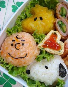 snoopy sushi?!