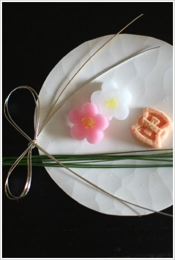 Japanese Confectionery for New Year Celeblation | Wagashi 和菓子