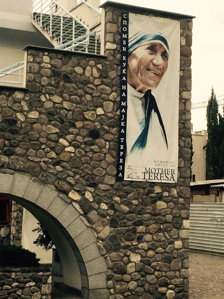 Mother Teresa,s house in Skopje