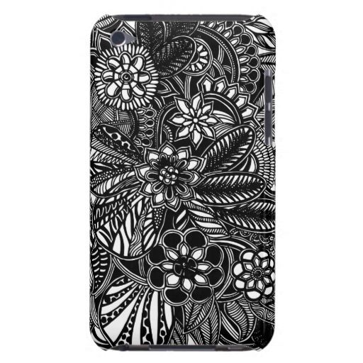 A unique Gardens #8 hand drawn art iPod case iPod Touch Covers