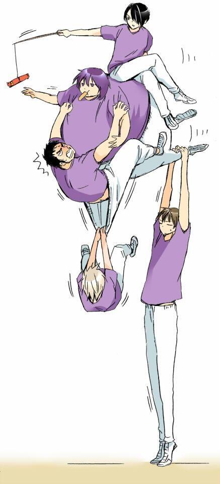 Kuroko no Basket (黒子のバスケ) - Yousen High (陽泉高校)