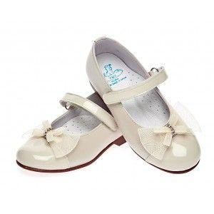 Туфли бежевые для девочки