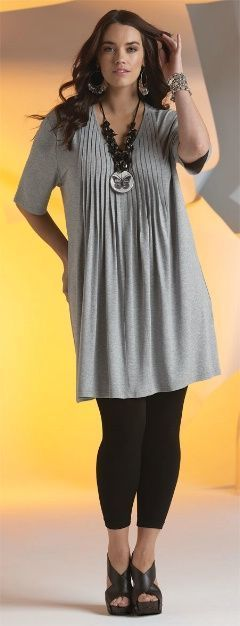 Long dress over leggings size