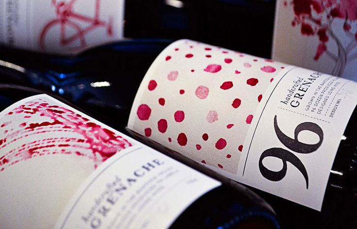 """""""wine label designs"""" - The designers at Melbourne's Passport agency took it upon themselves to create a unique brand and wine label designs that would celebrate bot..."""