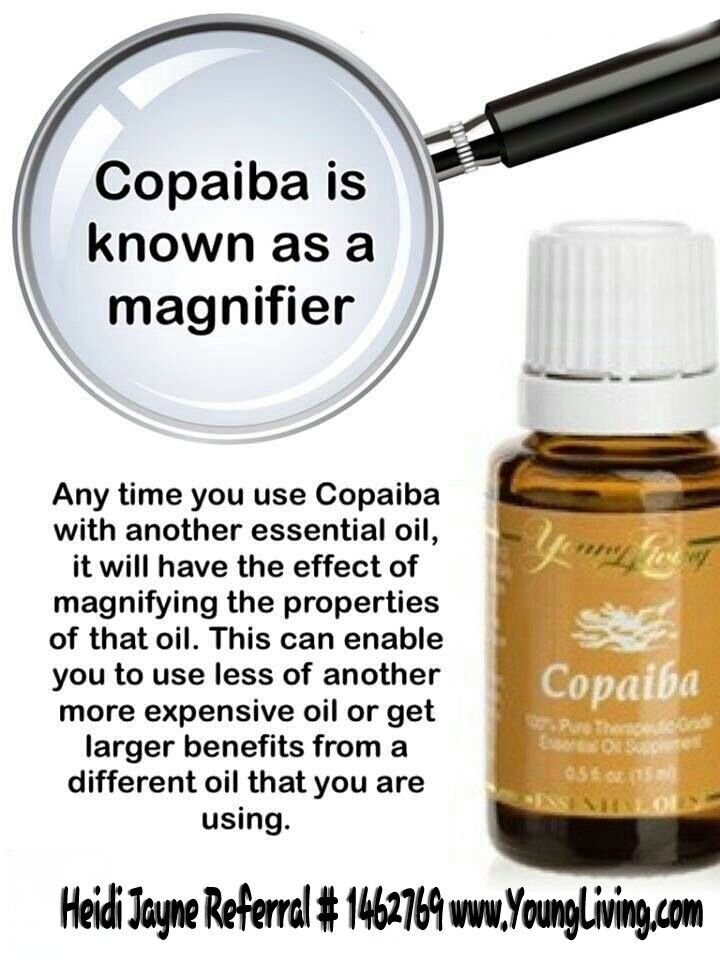 Copaiba the magnifying oil   If you have questions contact me. Would love to help you find better health with Young Living..Do you want to buy at wholesale?  Please just use this link: https://www.youngliving.com/signup/?sponsorid=1462769&enrollerid=146276