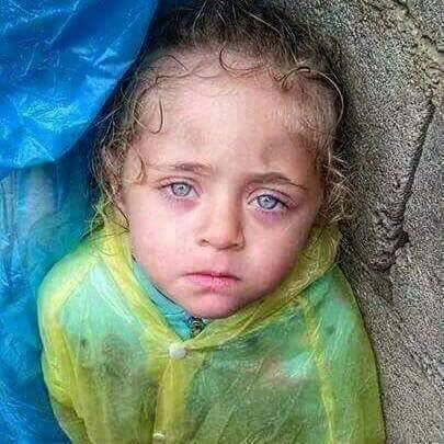 #Syrian-kids, orphan, hungry, afraid just need secure life