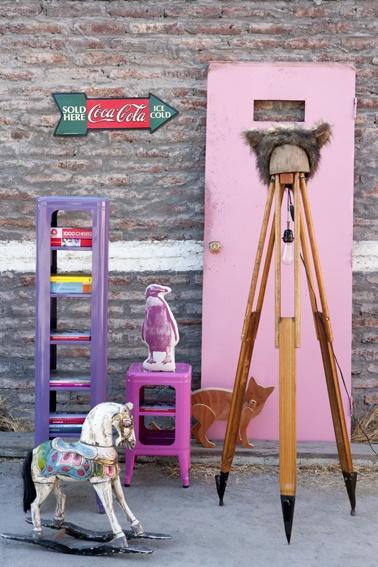 Dislocados  Styling by Estefanía Salas Camus  Revista MásDeco  via lespaillettesduquotidienne.blogspot.com