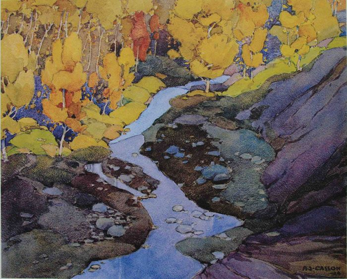 A. J. Casson On The Don River