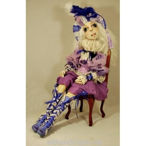 Textile doll Marta, BJD. Author Marysia Semitsvet - arthandmade.net/... Doll, ball-jointed doll, BJD, collectible doll, handmade doll, gift, original gift, craft, handmade, collection, Gallery Magical World, кукла, купить куклу, шарнирная кукла, коллекционная кукла, кукла ручной работы, подарок, оригинальный подарок, ручная работа, коллекция, Галерея Волшебный мир