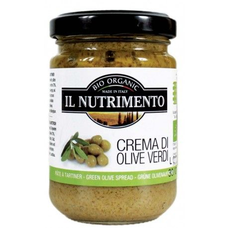 5/5 Grön olivpaté, Crema di olive verdi Il Nutrimento 130 g, inköpt på goodstore. mums, jag är helt galen i gröna oliver, passar perfekt att blanda med quinoa smaksatt med svartsalt och peppar.