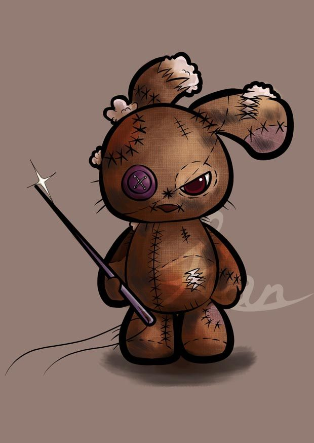 Same character Stitched. He always need to stitch himself around. I wound say it's a pretty hard job, haha. but well, he can XD