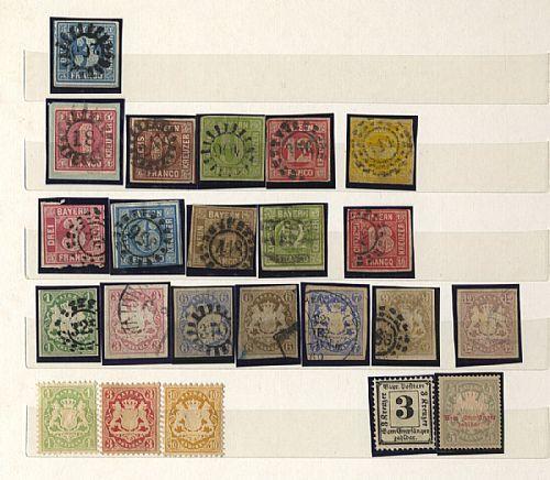 Antichi Stati Tedeschi - un classificatore con piccola accumulazione prevalentemente usata   Germania Reich - un classificatore con collezione ben avviata prevalentemente usata. Qualità molto mista, da esaminare.