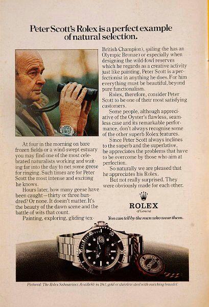 Rolex ad. Submarina 1680 red sub.