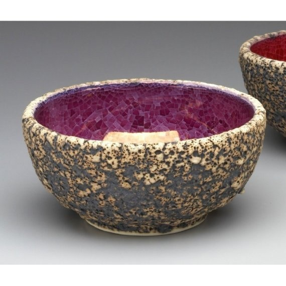 geode bowl  Things made out of rocks  Pinterest