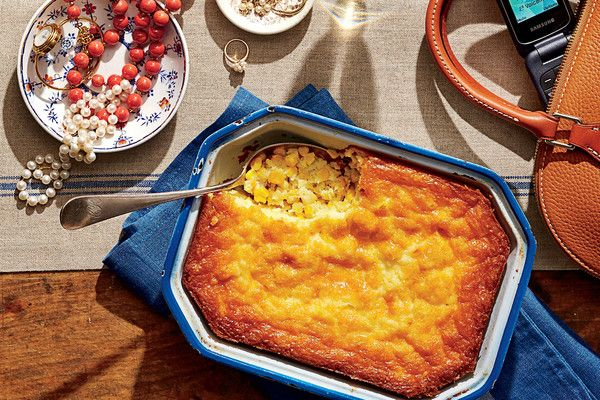 Tee's Corn Pudding - Spectacular Thanksgiving Sides - Southernliving. Recipe…