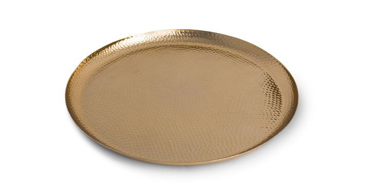 Myria Gold Platter - Accents - Article | Modern, Mid-Century and Scandinavian Furniture