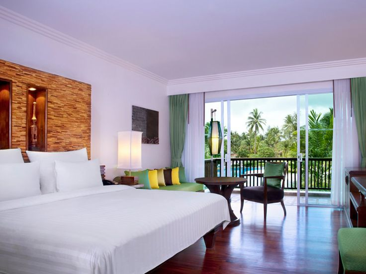 Beautifully appointed rooms at Le Meridien Khao Lak Beach & Spa Resort, Thailand  www.islandescapes.com.au