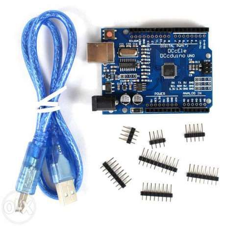 Arduino Uno R3 SMD CH340 (DCCduino) (Arduino) + USB B to USB A кабель Киев - изображение 1