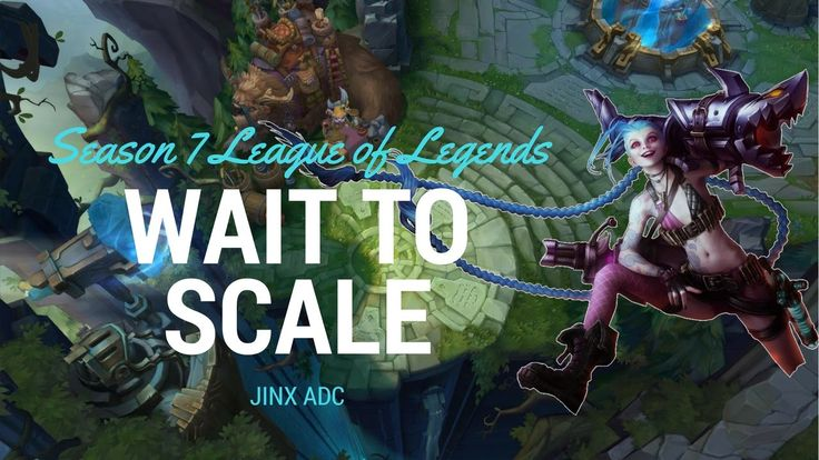 SCALING COMPLETE - Jinx ADC - Full Game Commentary S7 EP9 https://www.youtube.com/watch?v=68Iqp4E4hjM&t=532s #games #LeagueOfLegends #esports #lol #riot #Worlds #gaming