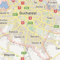 Bucuresti - Google Maps  Bucharest is the capital municipality, cultural, industrial, and financial centre of Romania.  Area: 228 km²