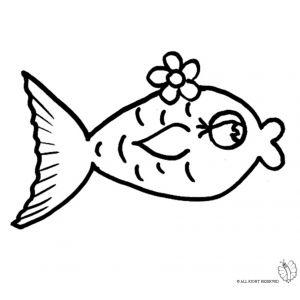 18 best disegni colorati di animali images on pinterest for Disegni da colorare pesciolini